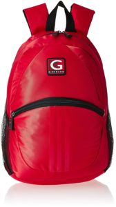 Amazon – Buy Giordano 19 Ltrs Red Laptop Backpack at Rs. 511 only image