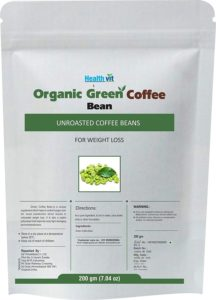 Amazon- Buy HealthVit Organic Decaffeinated Unroasted Green Coffee Beans
