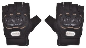 Amazon- Buy Romic Motorcycle Half Gloves (Black, Large) at Rs 132 image