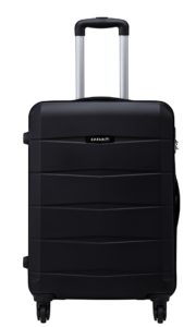 Amazon - Buy Safari Polycarbonate 77 cms Black Hard Sided Suitcase at Rs 2773