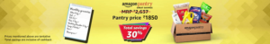 Amazon Pantry- Get up to 15% Cashback on Shopping worth Rs 1000 & Above (Max Rs 600) image