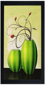 Amazon – Buy SAF Textured Print with UV Framed Reprint Painting (SANFO326, 15 cm x 3 cm x 38 cm) for Rs.98 + Free Delivery image