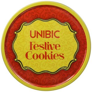 Buy Unibic Festive Cookies, Tin, 250g for Rs.99 only