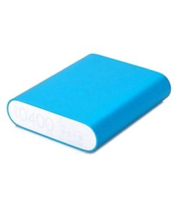 Buy mi-cro Mi4A 10400 -mAh Li-Ion Power Bank Blue for Rs.499 only