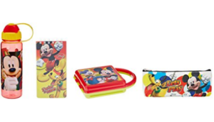 Disney Mickey Mouse back to School stationery combo set at rs.186
