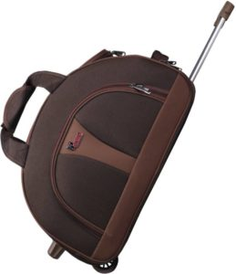 Flipkart- Buy F Gear 2390a 24 inch/60 cm Travel Duffel Bag (Brown) at Rs 1600 image