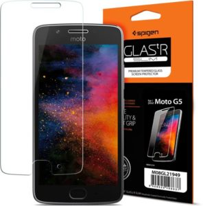 Flipkart- Buy Spigen Tempered Glass Guard for Motorola Moto G5 at Rs 99 image