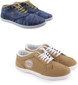 Flipkart Steal - Buy Globalite Tread & Stumble Casuals Combo (Pack of 2) for Rs 296