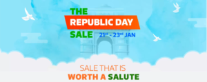 Flipkart The Republic Sale (21st - 23rd Jan)