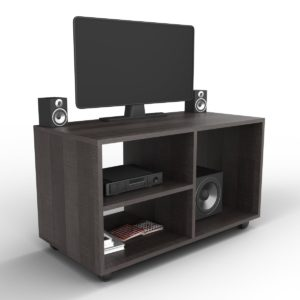 Forzza Odessa TV Rack with Wheels (Wenge)