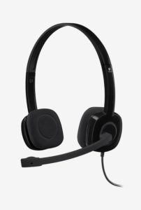 Logitech H151 Over-Ear Headphone Black