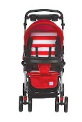 PayTMMall – Buy Mee Mee Comfortable Pram with 3 seating position (Red) at Rs.3,899 image
