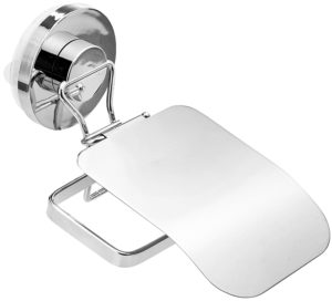 Amazon – Buy Miamour Push-Lock Steel Toilet Tissue Holder, Silver at Rs.215 image