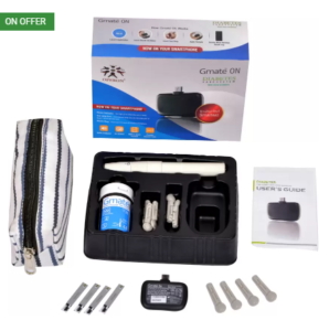 Flipkart – Buy Operon Gmate ON Glucometer (White) at Rs.499 only image