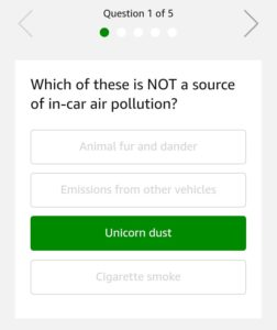 Philips GoPure Car Air Purifier Quiz Answers