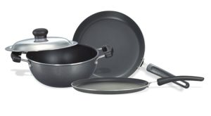 Amazon – Buy Prestige Omega Select Plus Non-Stick BYK Set, 3-Pieces at Rs.1360 image