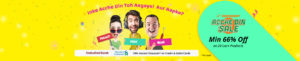 Shopclues 6th Anniversary 'Acche Din' Sale- Get Minimum 66% off on Sitewide + Extra up to 15% Cashback via Wallets image