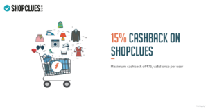 Shopclues freecharge offer
