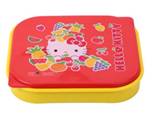 Amazon – Buy Sanrio Hello Kitty Lunch Box, 225mm, Red/Yellow at Rs.106 only image