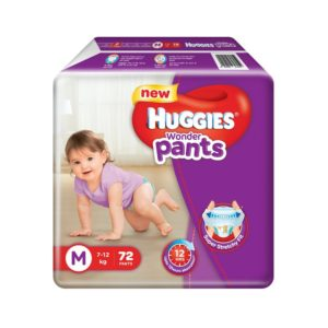 Amazon - Huggies Wonder Pants Medium Size (72 Count)
