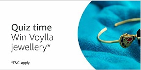 Amazon Voylla Jewellery Quiz Answers
