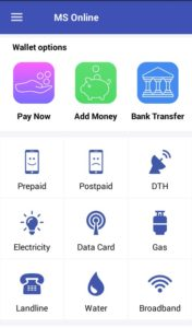 MS Online Refer and Earn Offers Recharge DTH Bill payments