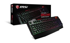 Amazon – Buy MSI Interceptor DS4200 Gaming Keyboard for Rs 3125 image