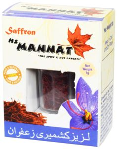 Amazon - Buy Mannat Kashmiri Saffron, 1g for Rs 249