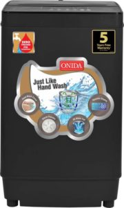 Flipkart – Buy Onida 6.5 kg Fully Automatic Top Load Washing Machine Grey for Rs 14999 image