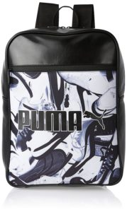 Puma 12 Ltrs Black-Sneaker Graphic Casual Backpack