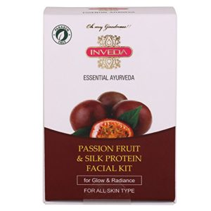 Amazon -  Buy Inveda Passion Fruit and Silk Protein Facial Kit at Rs 96