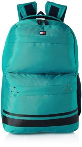 Amazon - Tommy Hilfiger 24.58 Ltrs Green Laptop Backpack