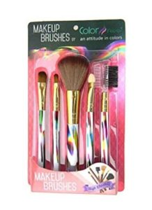 amazon  buy color fever makeup brush set rainbow 200g