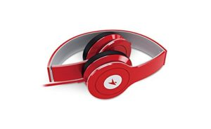 Genius HS-M450 On-Ear Headphones with Mic (Red)
