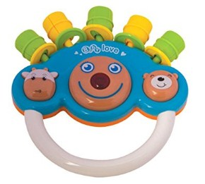 Mee Mee Musical Rattle Toy, Blue