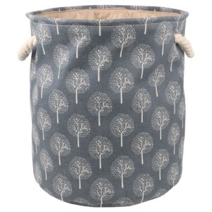 Miamour Tree Design Fabric Laundry Hamper