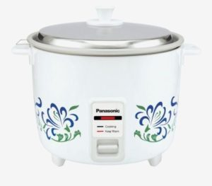 Panasonic SR-WA10H(E) 1 L Automatic Rice Cooker (White)