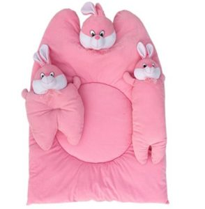 Amardeep and Co Bunny Mattress with Bolsters and Pillow (Pink) at rs.658