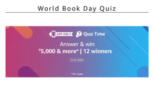 Amazon Book Day Quiz