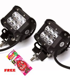 Amazon - Buy Autozot Spot Beam Off-Road Driving Fog Light (2 Bulbs) at Rs 507