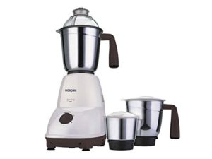 Amazon - Buy Borosil Super Smart 550-Watt Mixer Grinder (White)  at Rs 2649