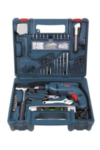 Amazon - Buy Bosch GSB 500 RE 500-Watt Tool Set (Blue) at Rs 2799 only