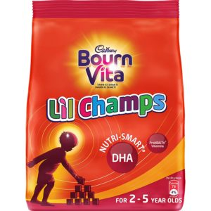 Amazon - Buy Bournvita Little Champs Pro-Health Chocolate Drink, 500 gm Pouch  at Rs 199