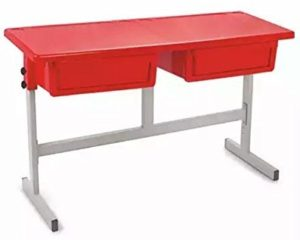Amazon - Buy Cello School Mate Kid's Double Desk (Red)