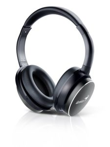 Amazon - Buy Genius HS-940BT Bluetooth Headphones with Mic (Iron Grey) at Rs 1705 only