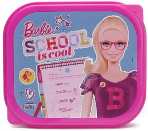 Amazon - Buy Mattel Barbie Mega Plastic Lunch Box, 750ml