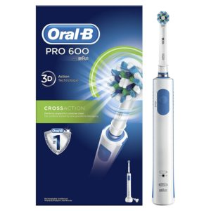 Amazon - Buy Oral-B Pro 600 Cross Action Electric Rechargeable Toothbrush (Multicolor) at Rs 1736 only