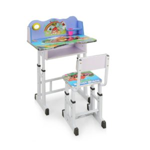 Amazon - Buy Royal Oak Angry Bird Desk with Chair (Blue)  at Rs 1311