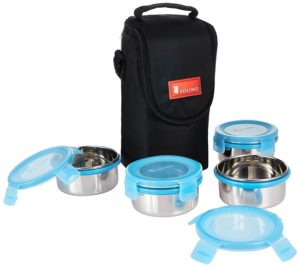 Amazon - Buy Solimo Stainless Steel Lunch Box Set
