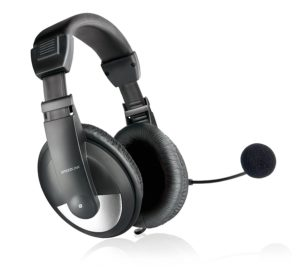 Amazon - Buy Speedlink Thebe Headphones with Mic (Black)  at Rs 614